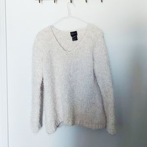Guilty | off white fuzzy sweater